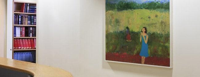 ציור קיר במשרד