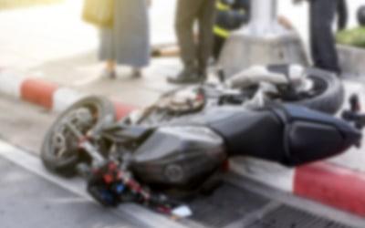 אופנע לאחר תאונת דרכים
