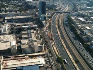כביש נתיבי איילון בתל אביב